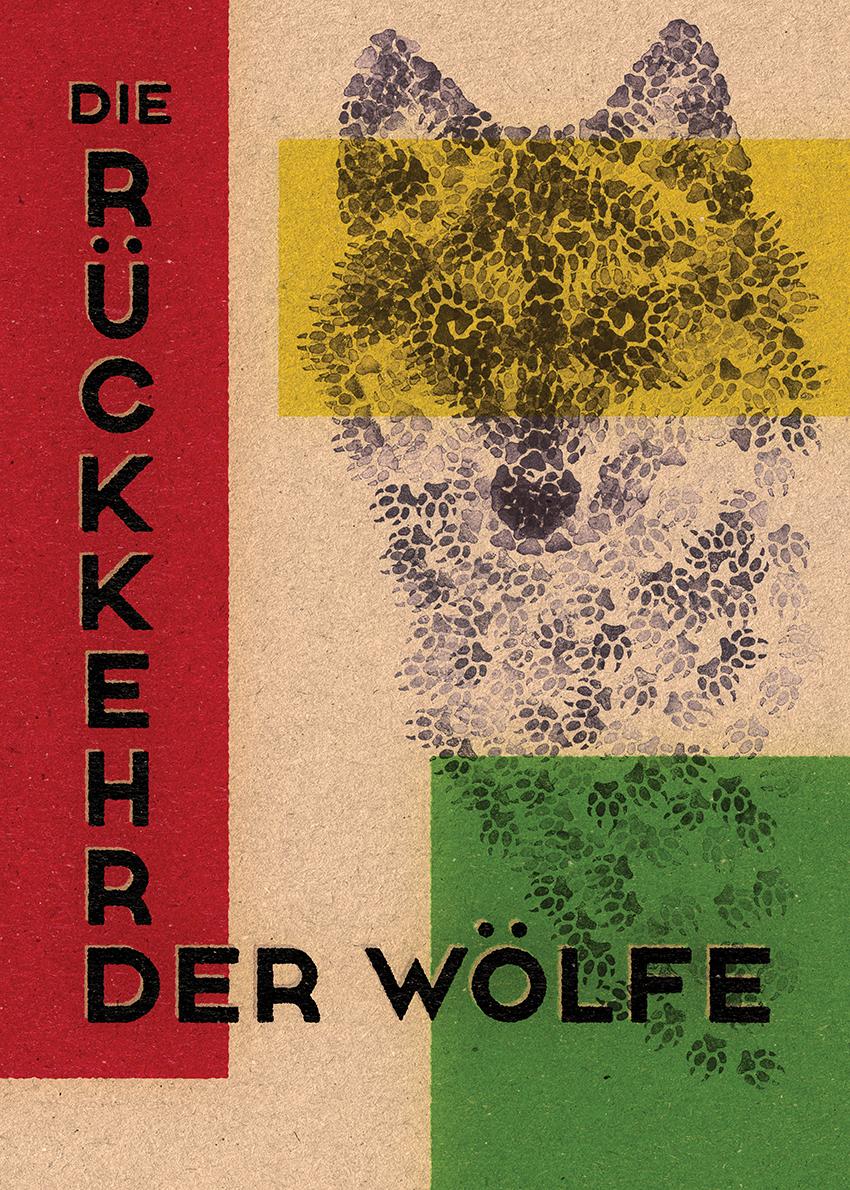 Die Rückkehr der Wölfe, Filmplakat