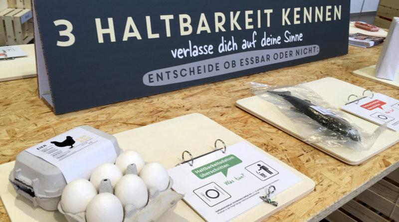 Ausstellung zum Thema Food Waste